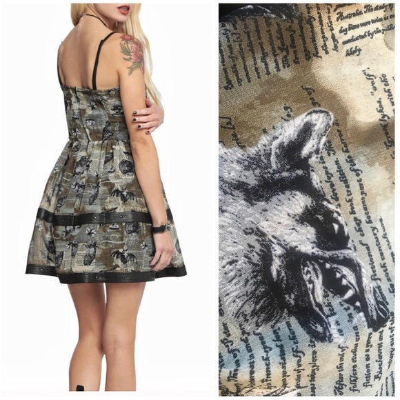SPIN DOCTOR LUNA STEAMPUNK DRESS PLUS SIZE